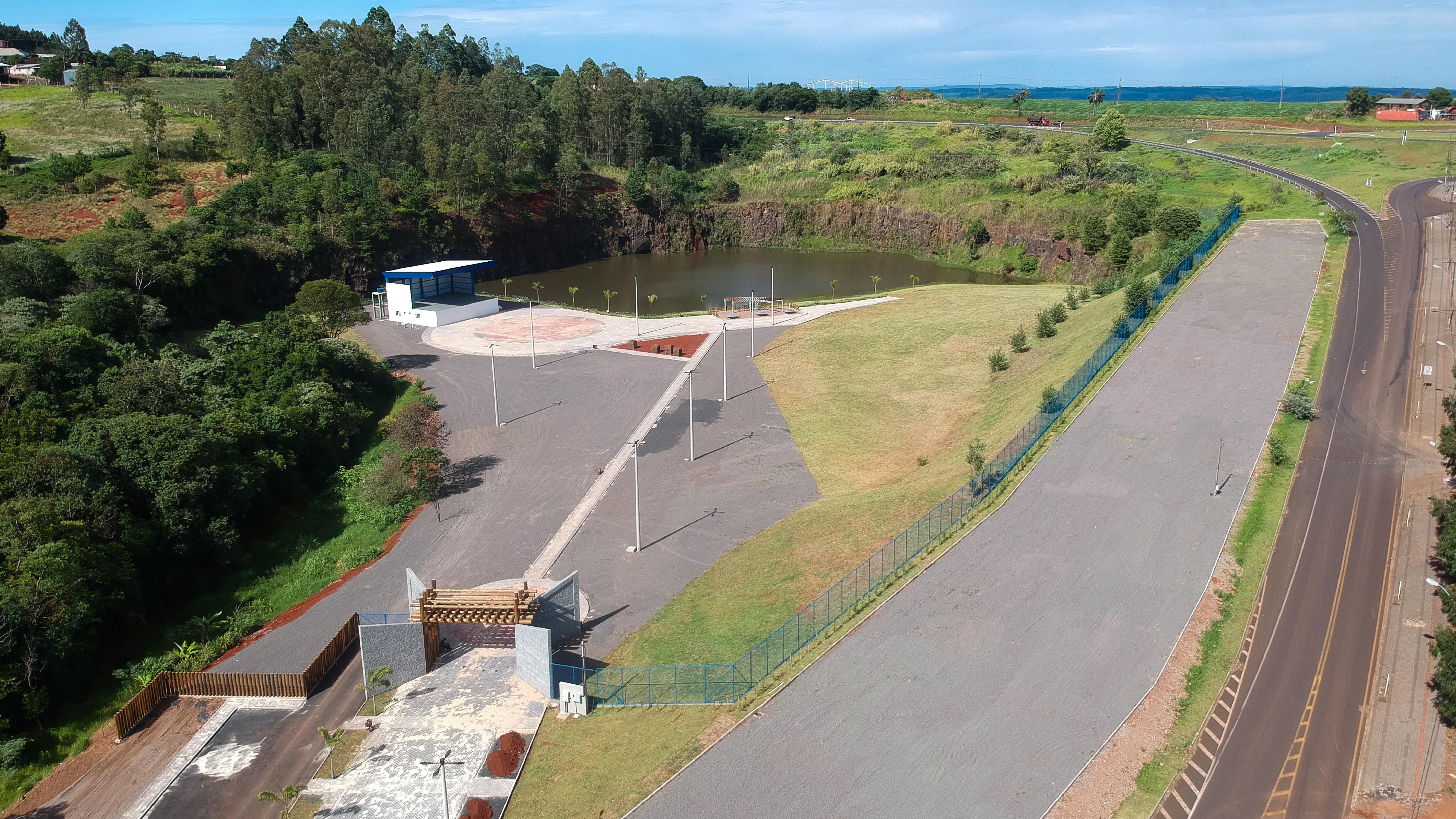 Parque da Pedreira será inaugurado nesta quarta-feira, em Pato Branco