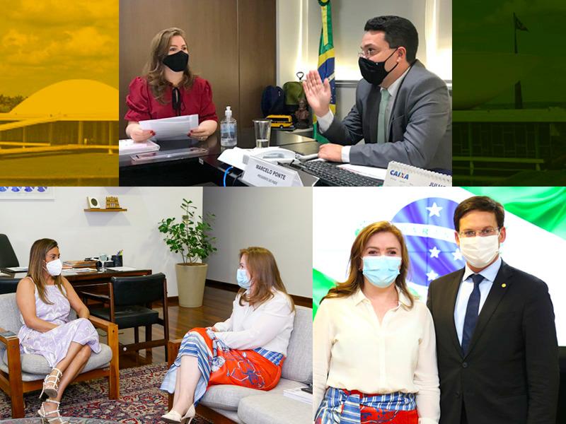 Em Brasília, Leandre participa de reuniões no FNDE, Cidadania e Planalto