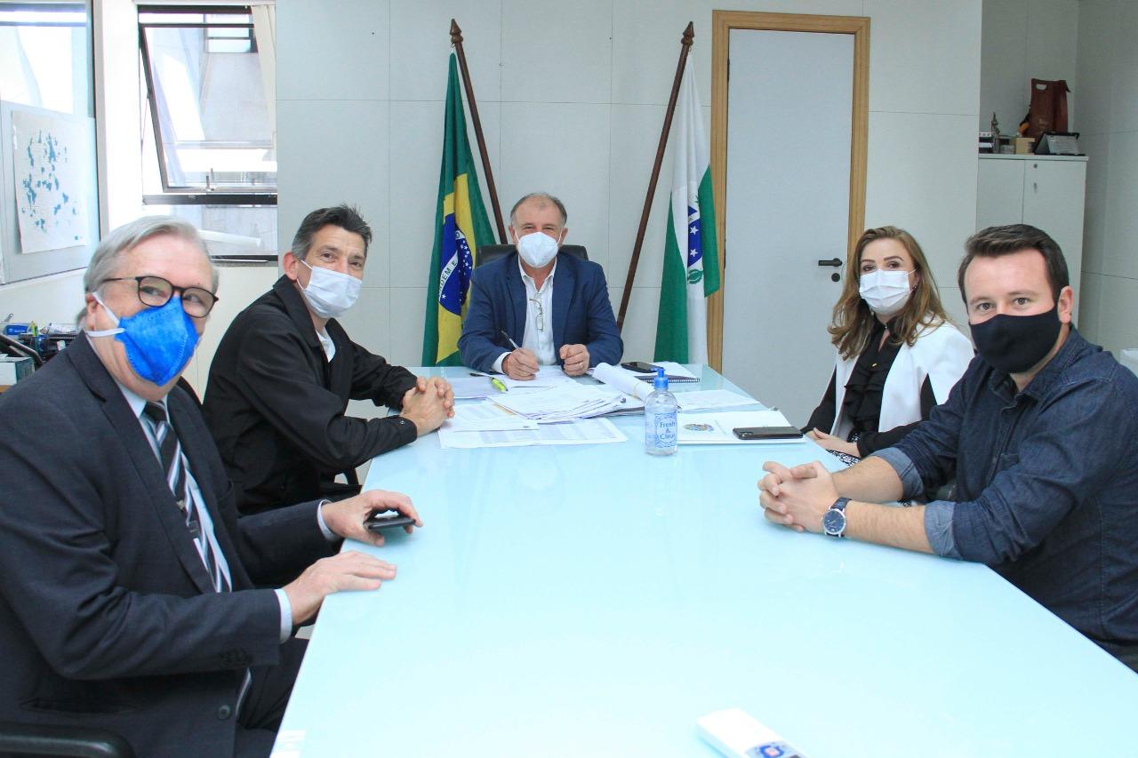 Paraná vai contribuir na aquisição de terreno para novo parque industrial em Chopinzinho