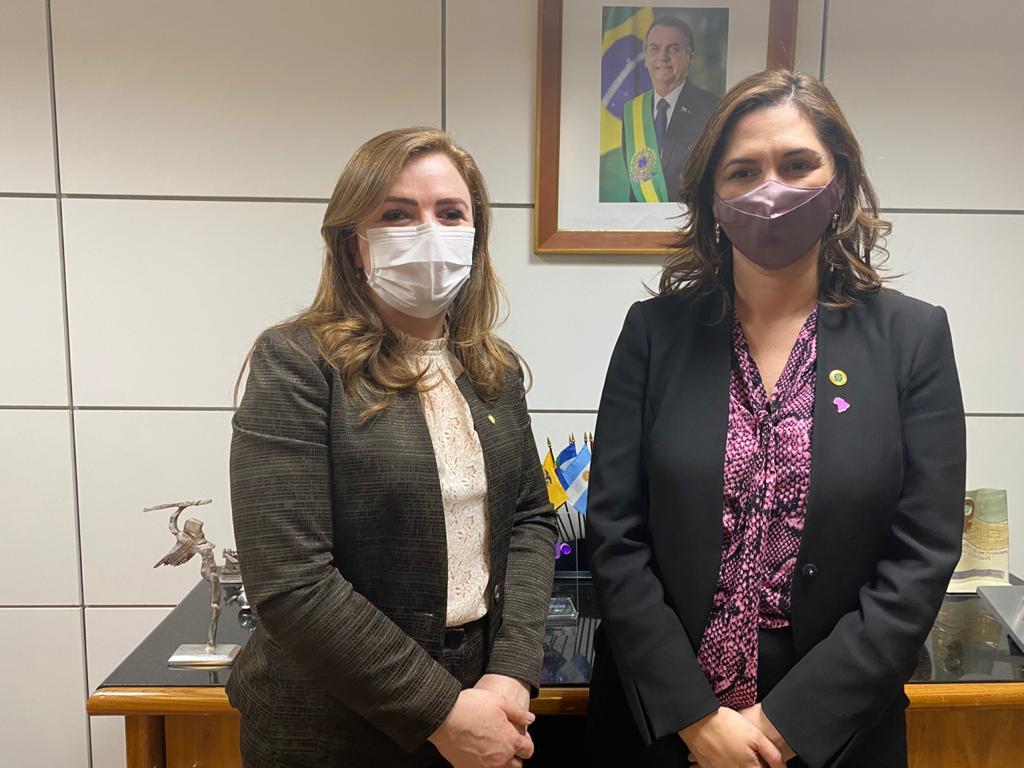Em Brasília, Leandre debate implantação da Casa da Mulher Brasileira no Sudoeste do Paraná