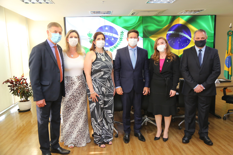 Leandre organiza reunião entre Comesp e ministro da Cidadania